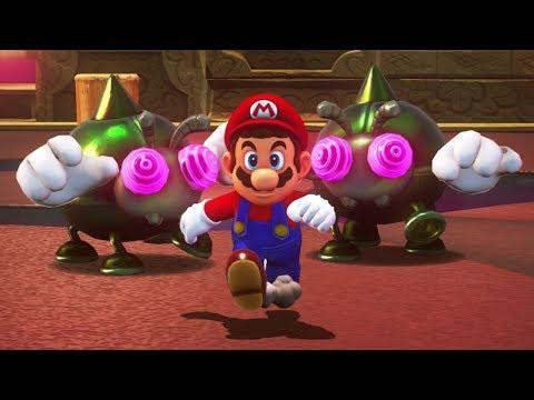 Super Mario Odyssey - All Lost Kingdom Power Moons