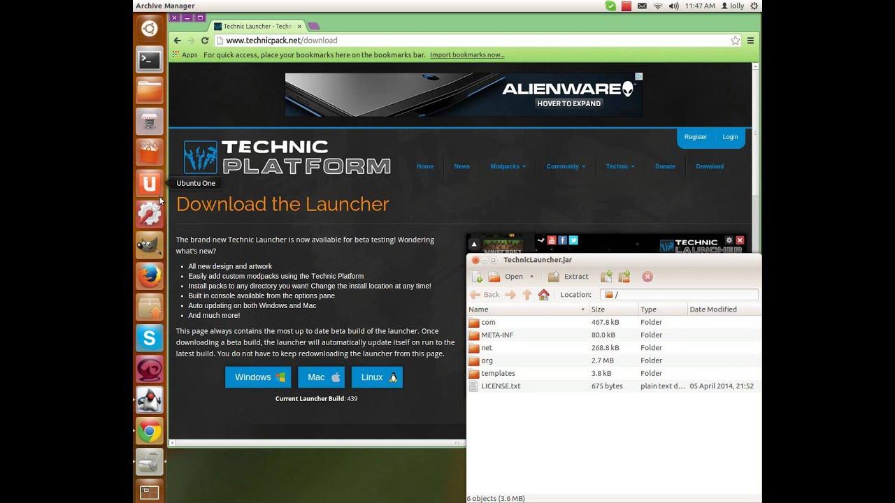 Tekkit launcher linux