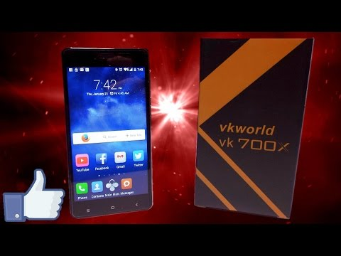 £49 VKWorld VK 700X Smartphone Review ( EasySMX, 5 inch screen, 3G)
