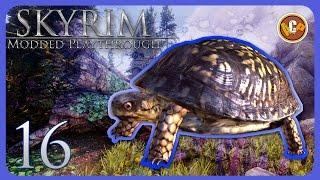 Skyrim Modded Playthrough - Episode 16 (CH.2 Dragonborn) •MIRAAK'S TEMPLE! •