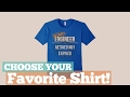 Top 12 Tees By Engineer Shirts // Graphic T-Shirts Best Sellers