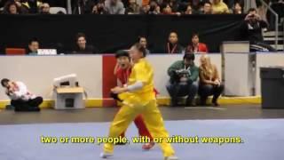 What is Modern Wushu?