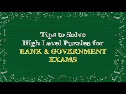 High Level Puzzle Solving Tips | Reasoning
