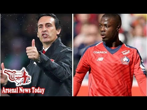 Arsenal boss Unai Emery delivers Nicolas Pepe transfer update after Angers clash- news today