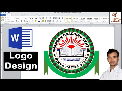 How To Make A Education Logo Design In Microsoft Word