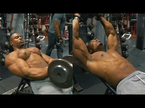 Workout For Abs, chest And Biceps By Lifting Heavy Dumbell