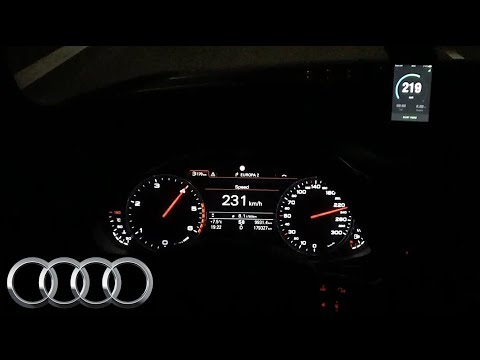 2013 Audi A6 2.0 TDI 130 kW, 0-200 km/h - acceleration