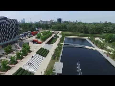 Campus Erasmus University - Aerial Video