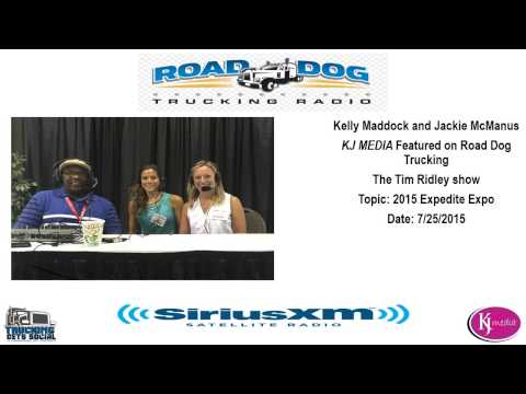 KJ MEDIA and Tim Ridley live at the 2015 Expedite Expo