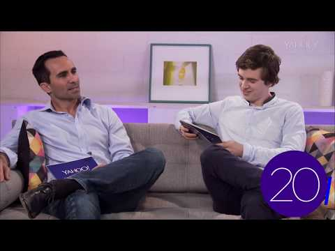 Nestor Carbonell and Freddie Highmore Play Yahoo Taboo
