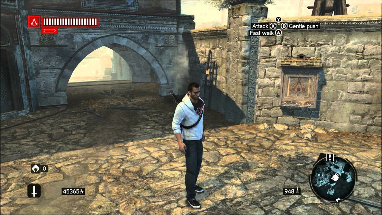 Assassin's Creed Revelations-Desmond Outfit/Fragment Map - YouTube