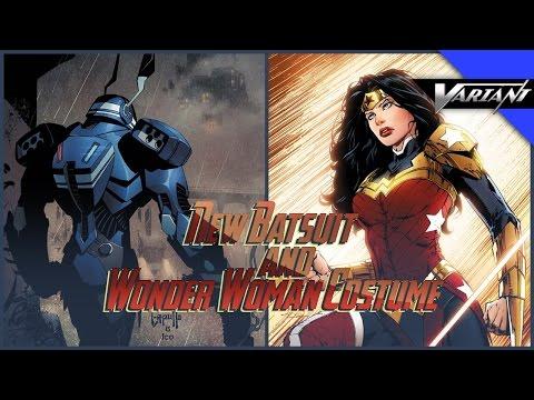 One Shot: New Batsuit & Wonder Woman Costume!