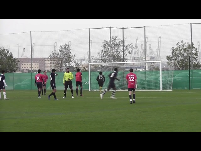Tfa 16s vs Barcelona academy 2-1 (06/03/2019)