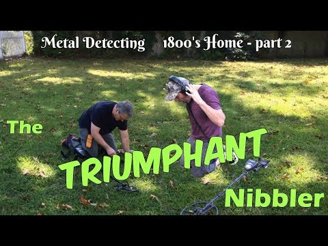 Triumphant! - Metal Detecting a hotbed of old coins, 1800's