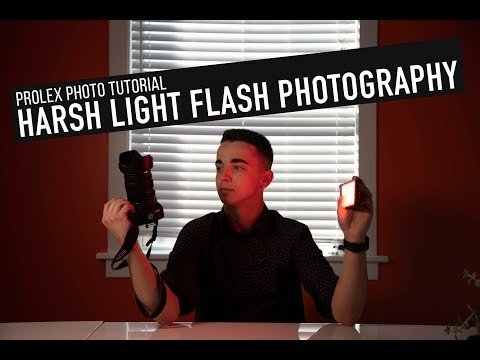 Harsh Light Flash Photography | Photo Tutorial thumbnail