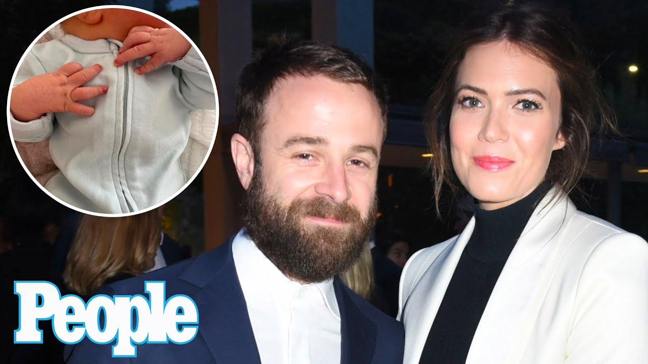 Mandy Moore and husband Taylor Goldsmith welcome first child