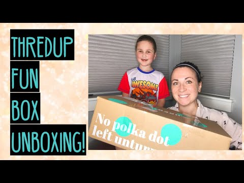 THREDUP REJECT MYSTERY FUN BOX UNBOXING TO RESELL FOR PROFIT ON EBAY & POSHMARK!