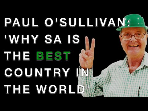 Paul O'Sullivan on forensics, corruption and why South Africa is the BEST country in the world