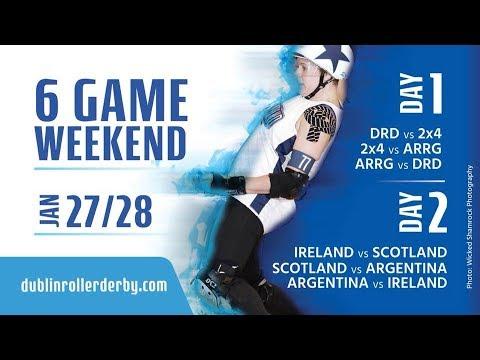 DRD Mini Tournament Day 1: Dublin vs Auld Reekie vs 2x4