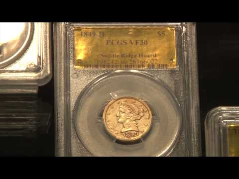 COOL COINS! from the Saddle Ridge Buried Treasure Gold Hoard. VIDEO: 2:00.