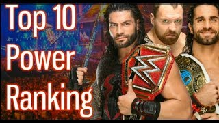 WWE Top 10 Power Rankings November 2018!wwe top 10 powerful Wrestler