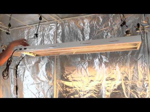 T5 Fluorescent Grow Lights by Virtual Sun Hydroponics