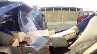Realizace štípacího poloautomatu Huštěnovice: Tajfun RCA 480 JOY