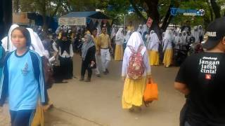 Tolak Siswa Mesum, Siswa SMAN 1 Maros Gembok Sekolah