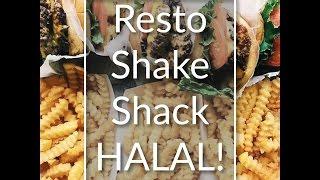Resto Shake Shack Halal