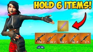 *NEW TRICK* HOLD 6 ITEMS AT ONCE!! - Fortnite Funny Fails and WTF Moments! #772