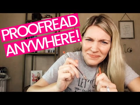 Proofread Anywhere - Caitlin Pyle Interview (MAKE MONEY PROOFREADING!!)