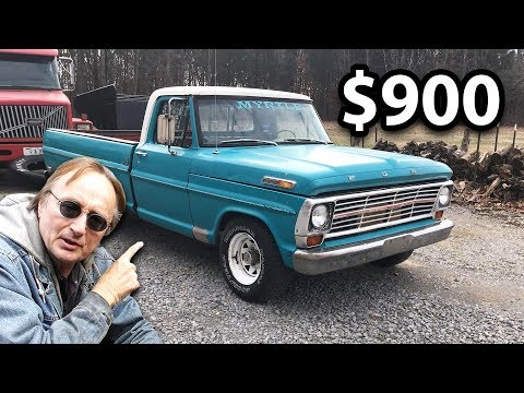 Here's What A $900 Ford Truck Looks Like