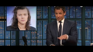 "Seth Meyers on Brexit ""If Harry Styles leaves, it"