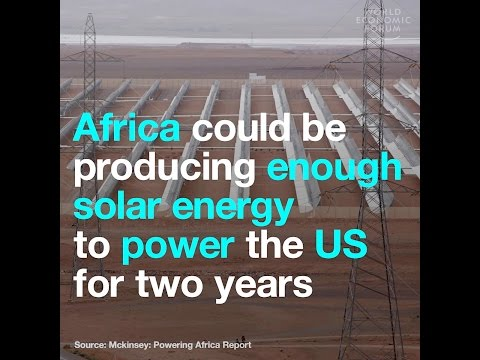 Africa could be producing enough solar energy to power the US for two years
