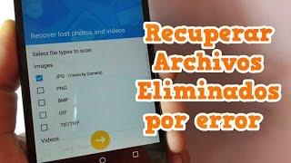 Recuperar archivos eliminados por error Fotos, Video, Mensajes, Contactos - Dr Fone