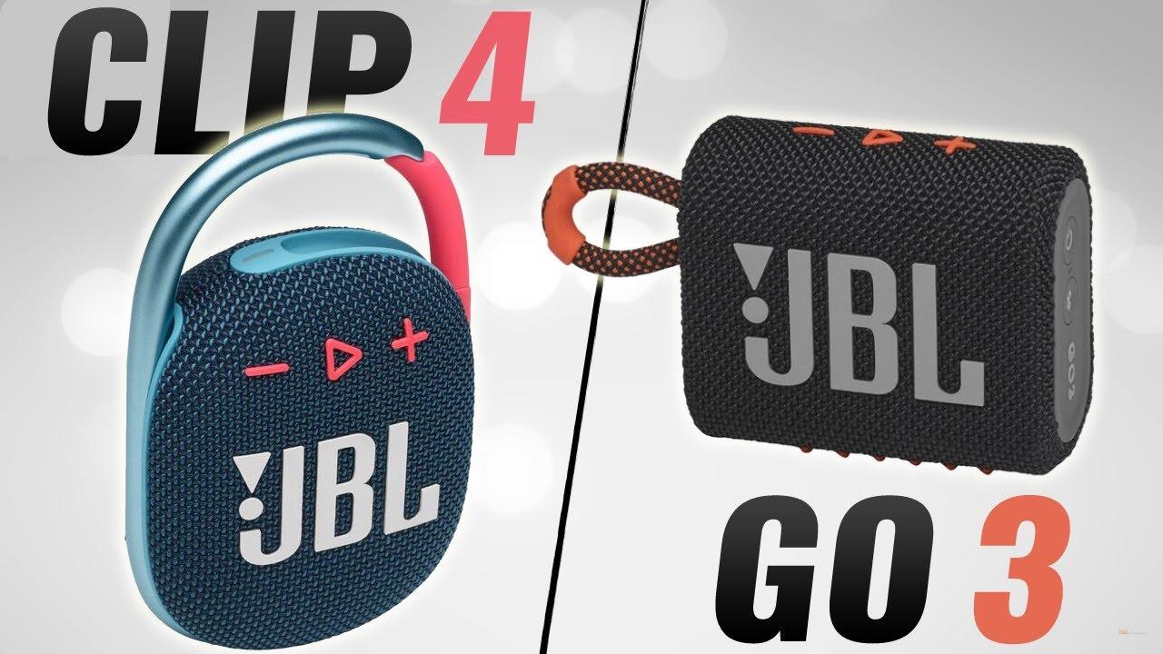 Download One Is WAY Better! JBL Go 3 vs Clip 4 (Indoor & Outdoor Audio Samples)