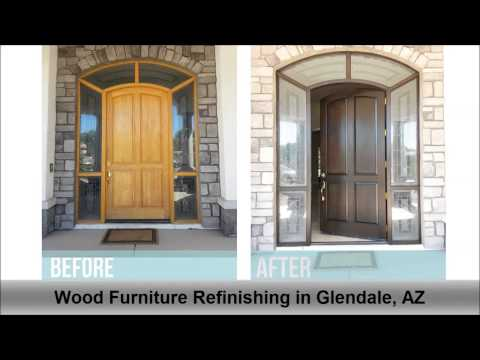 Wood Furniture Refinishing Glendale AZ A Little Touch Up