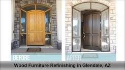 Wood Furniture Refinishing Glendale AZ A Little Touch Up