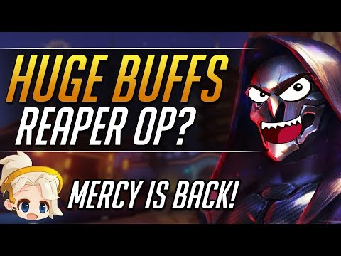 NEW PTR PATCH 1.3 - Big BUFFS! Patch Analysis | Overwatch Guide thumbnail