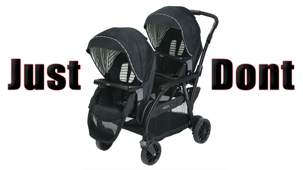 graco double stroller assembly 2nd baby almost here youtube. Black Bedroom Furniture Sets. Home Design Ideas