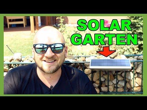 BELEUCHTUNG IM GARTEN MIT Solar Garten Lampe von ROILOIS