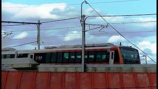 臨時快速「紅葉海里」HB-E300系 新潟→東三条→弥彦 9728D
