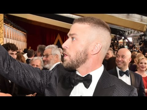 Justin Timberlake Oscars Opening Performance  Cant Stop That Feeling