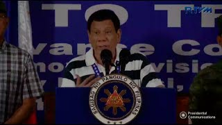 Duterte blames arms stockpiling in Marawi on 'soft policy' on rebels