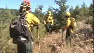 California Air National Guard Firefighting Training