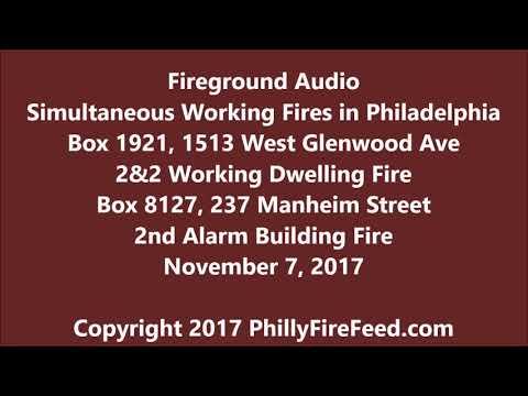 11-7-17, 1513 W Glenwood Ave and 236 Manheim St, Philadelphia, PA