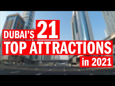 Dubai's TOP attractions in 2021 (from the Burj Al Arab to Global Village)
