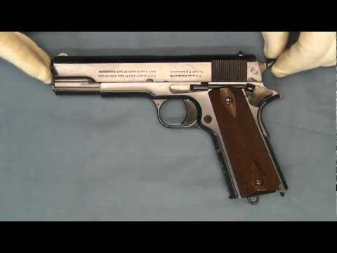 WW I Canadian Expeditionary Forces Government Model Pistol .45 ACP