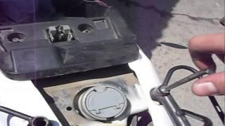 Як прикрутити бугель на скутер