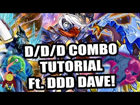 *YUGIOH* HOW TO: BASIC D/D/D COMBOS FT. D/D/D DAVE! POST. PENDULUM DOMINATION! UNBREAKBALE BOARDS